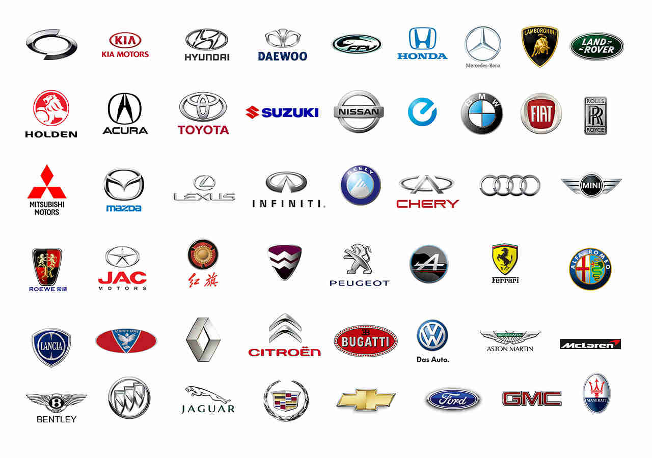 Just some of the car brands we provide locksmith services for!
